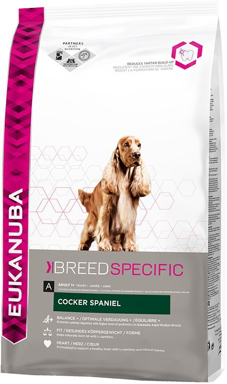 Сухой корм Eukanuba Breed Nutrition (DNA) Кокер-Спаниель